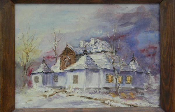 WIDAWSKA – KUBSKA IWONA – Dwór w Ożarowie – Zima