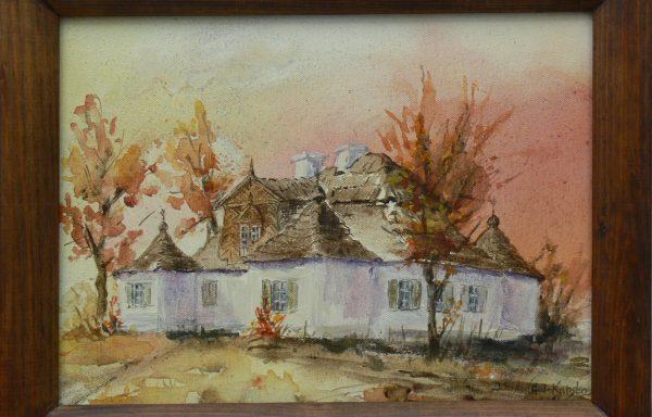 WIDAWSKA – KUBSKA IWONA – Dwór w Ożarowie – Jesień