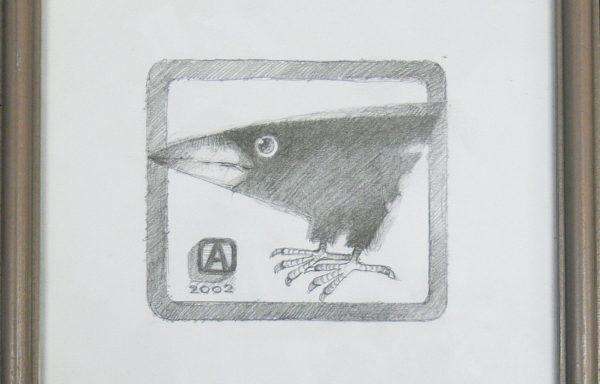ASZKIEŁOWICZ ALFRED -Ptak z białym dziobkiem