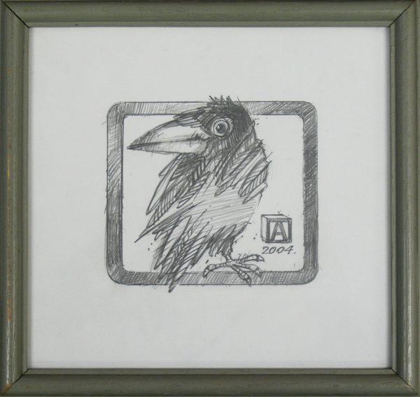 ASZKIEŁOWICZ ALFRED – Ptak w ramce