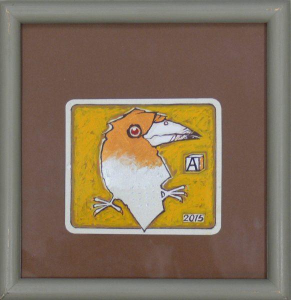 ALFRED ASZKIEŁOWICZ – Ptak złotosrebrny