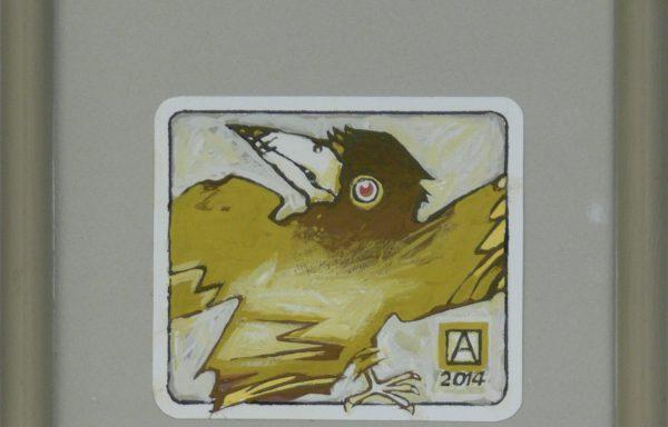 ASZKIEŁOWICZ ALFRED – Ptak wystraszony