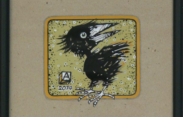 ASZKIEŁOWICZ ALFRED – Ptak z białym okiem