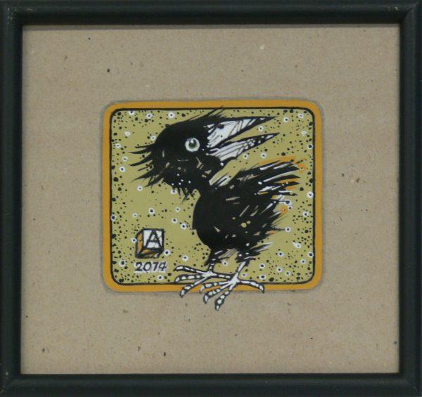 ALFRED ASZKIEŁOWICZ – Ptak z białym okiem
