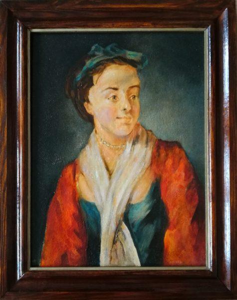 ARGASIŃSKI JANUSZ – Portret młodej kobiety