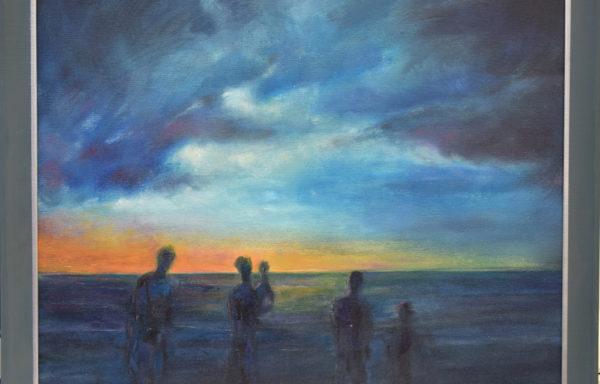 ARGASIŃSKI JANUSZ- Plaża o zachodzie